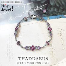 Magnifiques Bracelets d'ornement en argent Sterling 2020, chaîne à maillons, bijoux royaux à la mode, cadeau de l'ère victorienne pour femmes, nouvelle collection 925