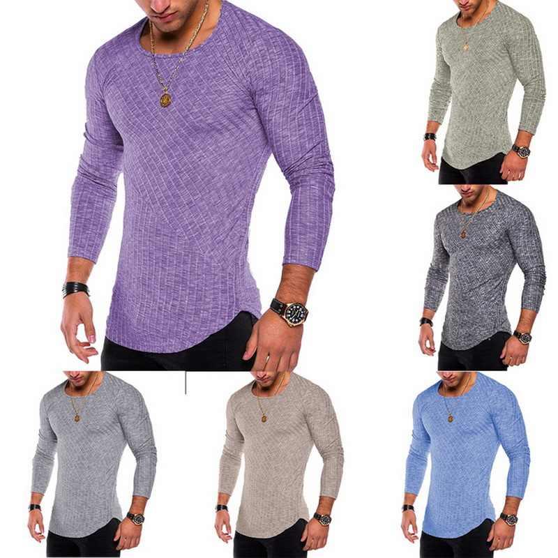 Men T เสื้อสบายๆ Tops Tees เสื้อบุรุษเสื้อผ้าแฟชั่น V คอ TShirt Undershirts 2019 3XL ขนาดใหญ่