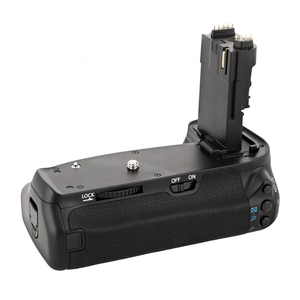 Image 5 - GloryStar MK 70D BG E14 C EOS 70D 80D 90D 카메라 용 수직 배터리 그립 홀더