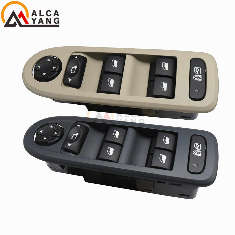 Beige Malcayang 96644915 Power Master Window and Mirror Switches for 308 2007-2012