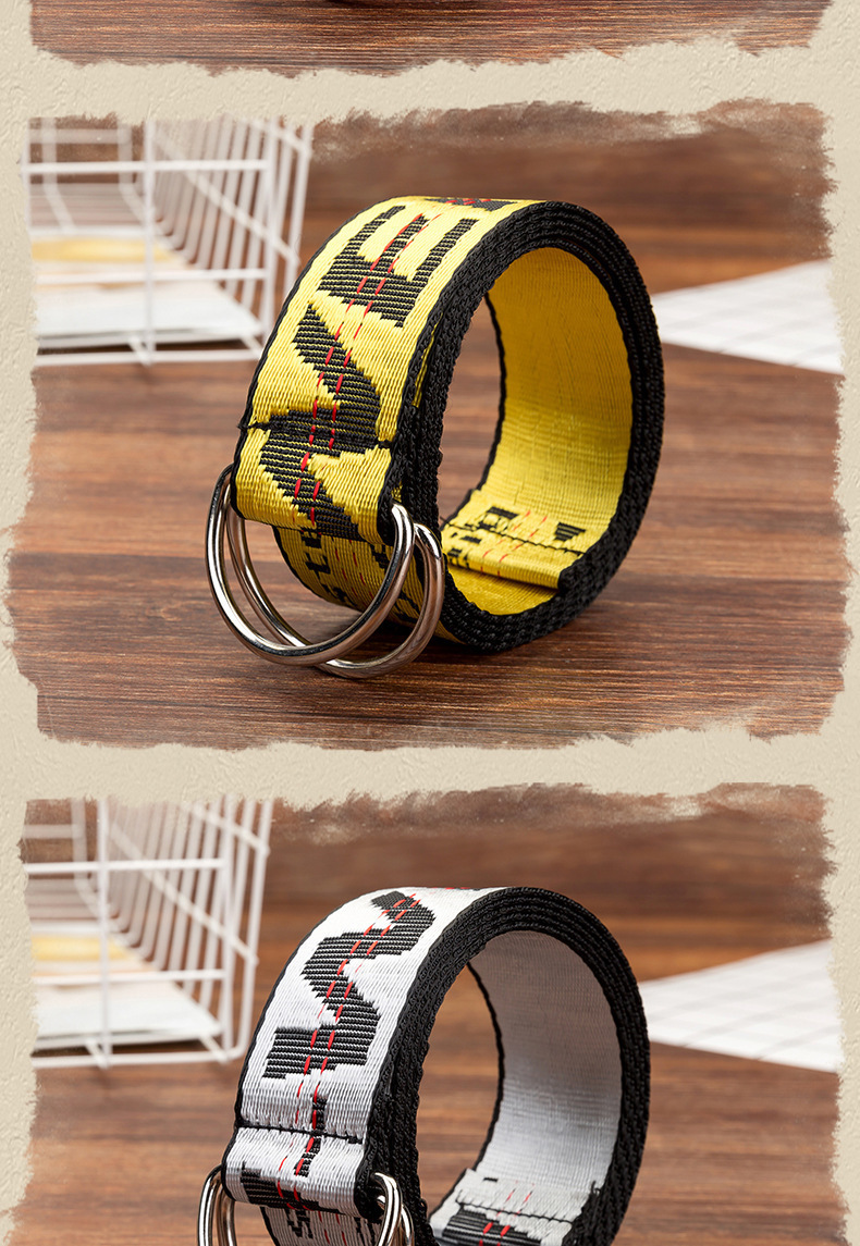 H25de6d46fee54340a3c08aba95c8b116Y - Belts Women Fashion Personality Letter KINGSIZE Belts European and American Style High Quality Canvas Belt Big Size Belts