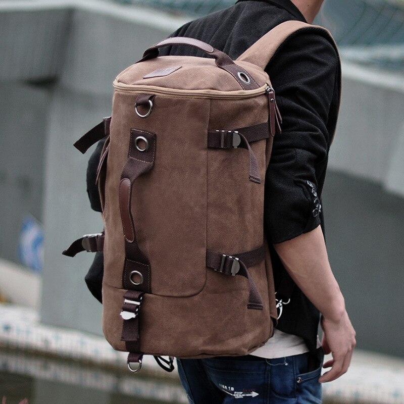 Sac à dos sac de haute qualité coréen toile une épaule jeunesse voyage ordinateur multifonction 2019 nouveau JIULIN