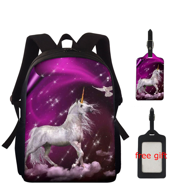 Thikin School-Bags Custom-Print Teenagers Large-Capacity Girls Accessories for Any-Pattern