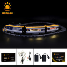 LIGHTAILING LED Light Kit For City Passenger Train Set Compatible With 60197 (NOT Include The Model)