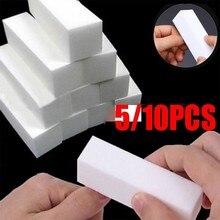 5/10PCS Buffer Buffing Sand Sanding Files Block Manicure Care White Nail Art Tips
