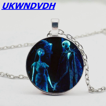 Christmas Night Cry Crystal Necklace Falling Male falling away