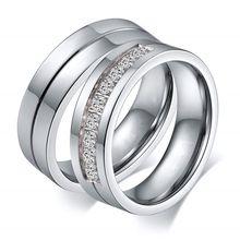 Модные парные кольца обручальные для женщин/мужчин подарок влюбленных