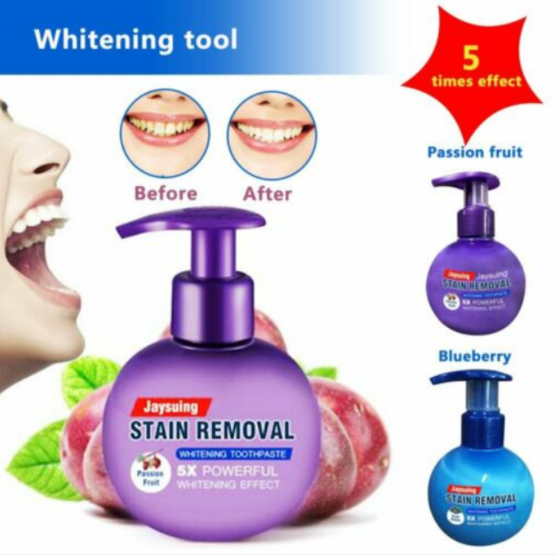 NEW Stain Removal Whitening Toothpaste Fight Bleeding Gums Dental Tooth Care Tartar Stain Plaque Stains Removal Toothpaste