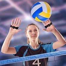 Волейбольный тренировочный ремень, профессиональные полосы для упражнений, микрофибра, инструмент для тренировки волейбола, мяч, проходящий Тип коррекции, помощь
