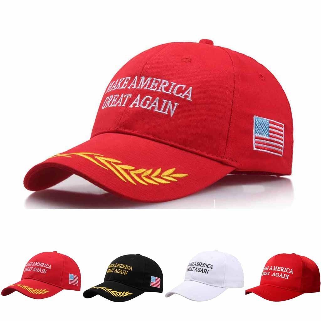 American Election Make America Great Again Hat Adjustable Baseball Unisex Hat Make America Great Again Letter Print Hat#T2 6