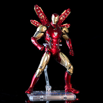 Juguetes De Los Vengadores 4 MK85 Iron Man Pepper pareja ropa de batalla figura de acción móvil modelo juguetes con caja de regalo