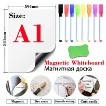 Soft Magnetic Whiteboard Sticker Fridge Magnets Presentation