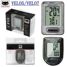 Cateye suporte de celular para bicicleta, computador de ciclismo velo5, velo7, pk garmin/bryton 310 330