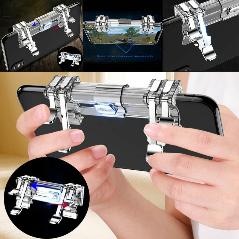 HOT Game Controller For PUBG Mobile Phone Shooter Aim Controller Game Trigger L1R1 Button For Iphone Android PUBG Game Controlle