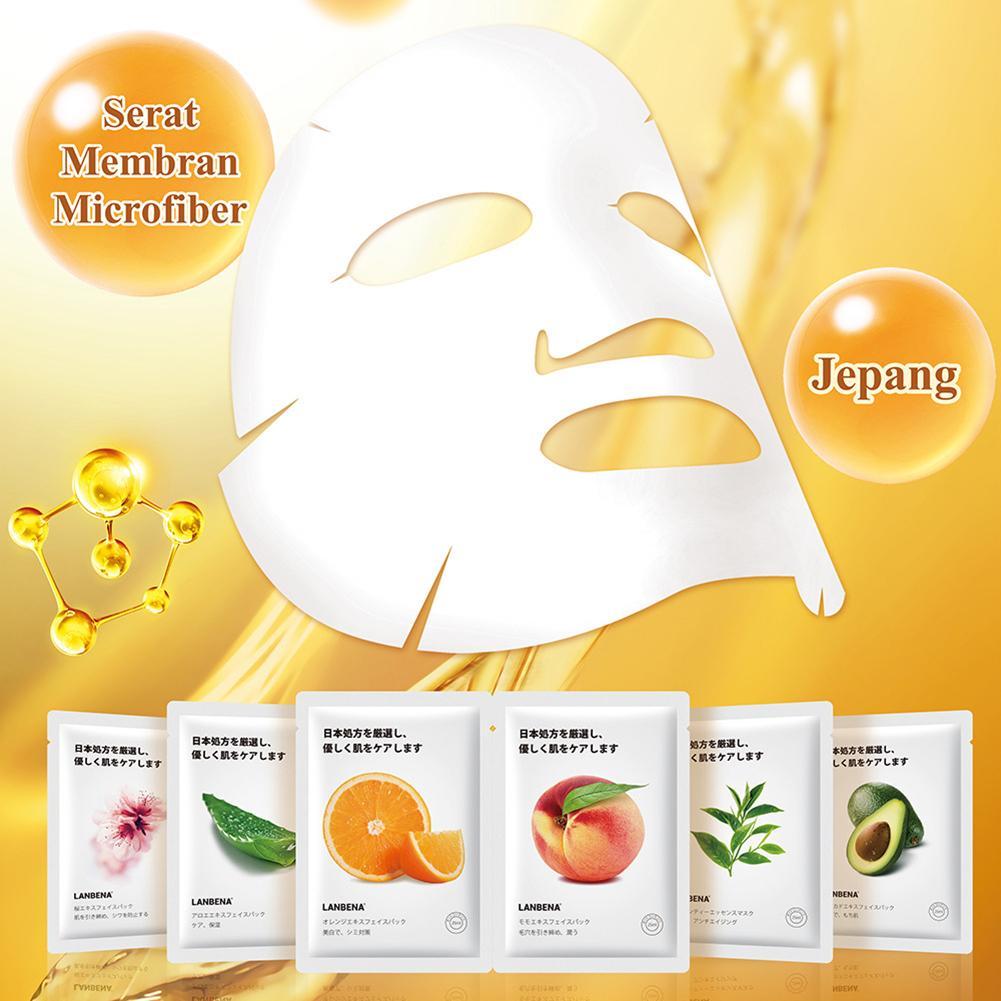 Fruit Facial Mask Supply Deep Moisturizing Oil Control Mask Avocado Peach Aloe Orange Sheet Mask Face Water-locking Skin Care #