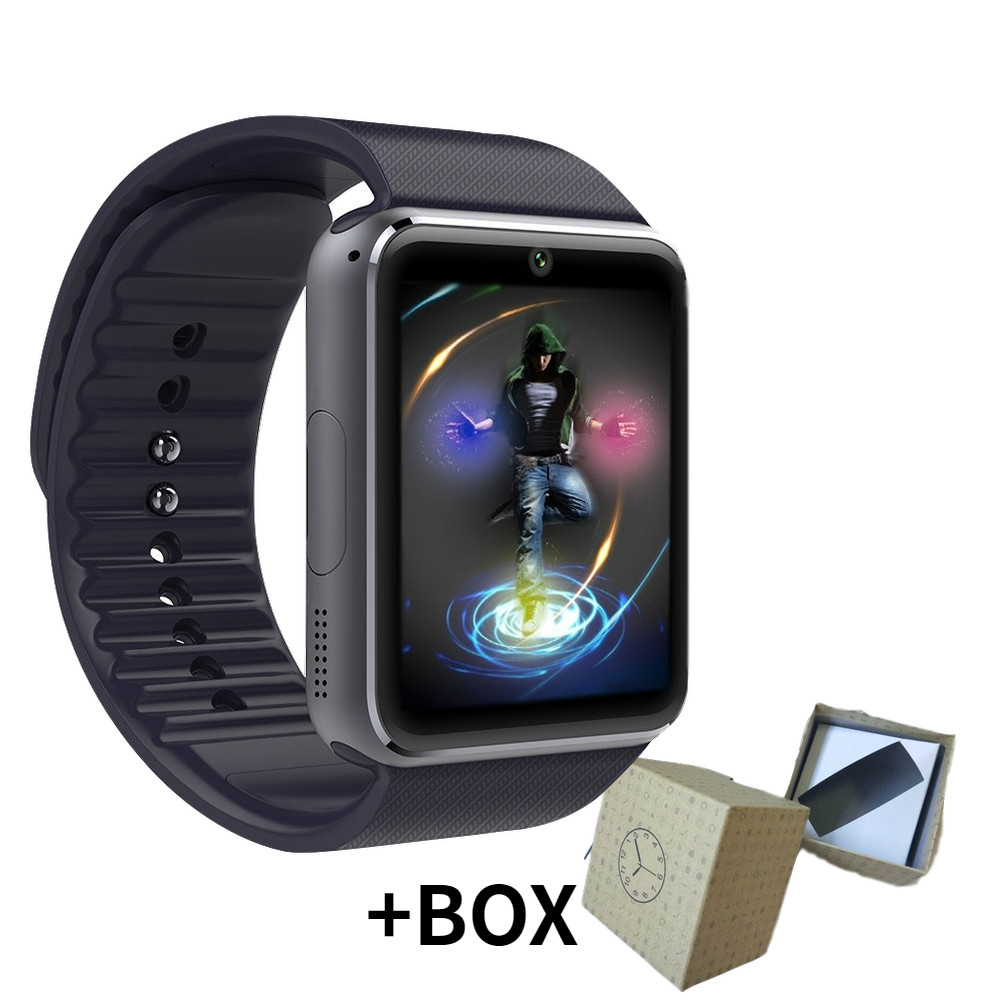 2020 New Digital Bluetooth Smart Clock MenSmart Watch Bbracelet Independent Card Sports Pedometer Camera Bluetooth Call Reminder