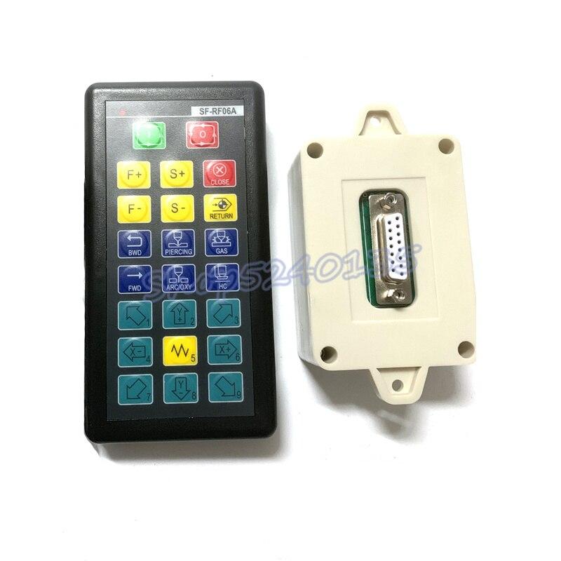 Máquina de Corte Remoto sem Fio para Sf-2100s Controle Chama Plasma Cnc Sistema Sf-rf06a – Sf-2300s Sf-2100c