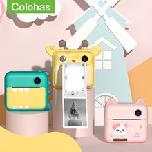 Children's Instantane Camera With Print Toys For Kids Video Photo Digital Camera Instant Print Camera Christmas Birthday Gift