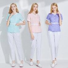 Cosmetologist uniform skin management uniform Plastic and beauty salon nurses uniform cosmetology uniform work clothes