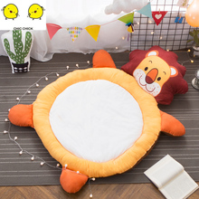 Cartoon Childrens Panda Lion Tatami Couch  Ssofa Bed Mattress Padded Bedding Plush Toys Baby Playmat