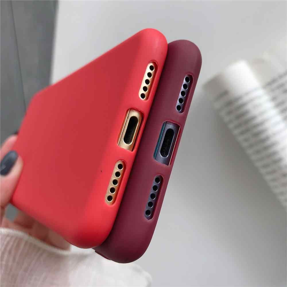 TPU caso suave Xiaomi rojo mi 7A 7 6A 5A 5 Plus 4A 4X K20 Nota 7 4 5 6 funda trasera de silicona Pro funda Xiaomi mi 9T Pro A3 A1 A2
