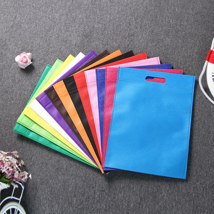 New Women Foldable Shopping Bag Reusable Eco Large Unisex Fabric Non-woven Shoulder Bags Tote Grocery Cloth Bags Pouch 30*40CM