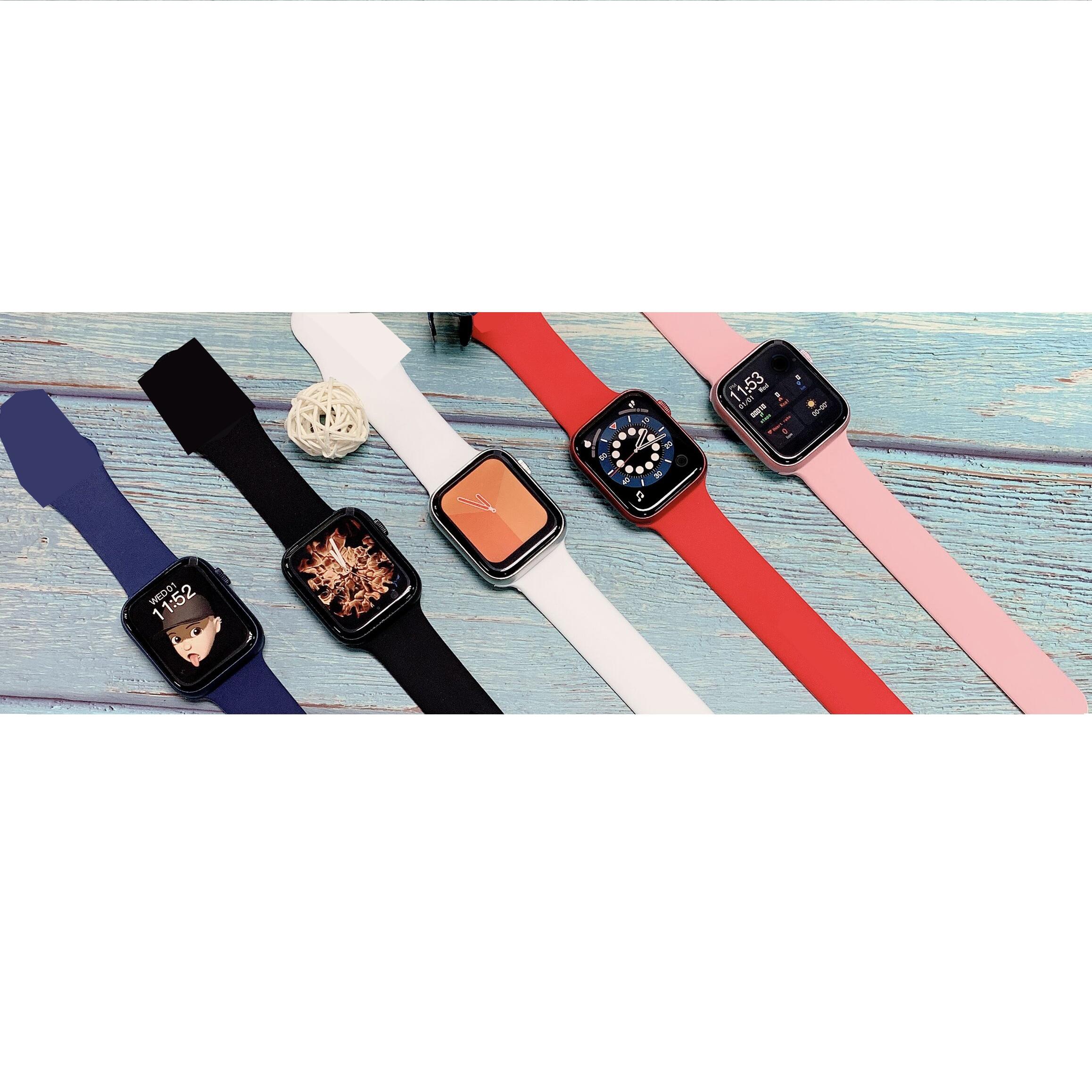 "H25e1220a4f1d416a9eeebe11cb10737bX 2021 IWO 13 MAX Smart Watch T500+ plus 1.75""HD Bluetooth Calls Custom Wallpaper Heart Rate Monitor Sport Smartwatch PK W46 W26"