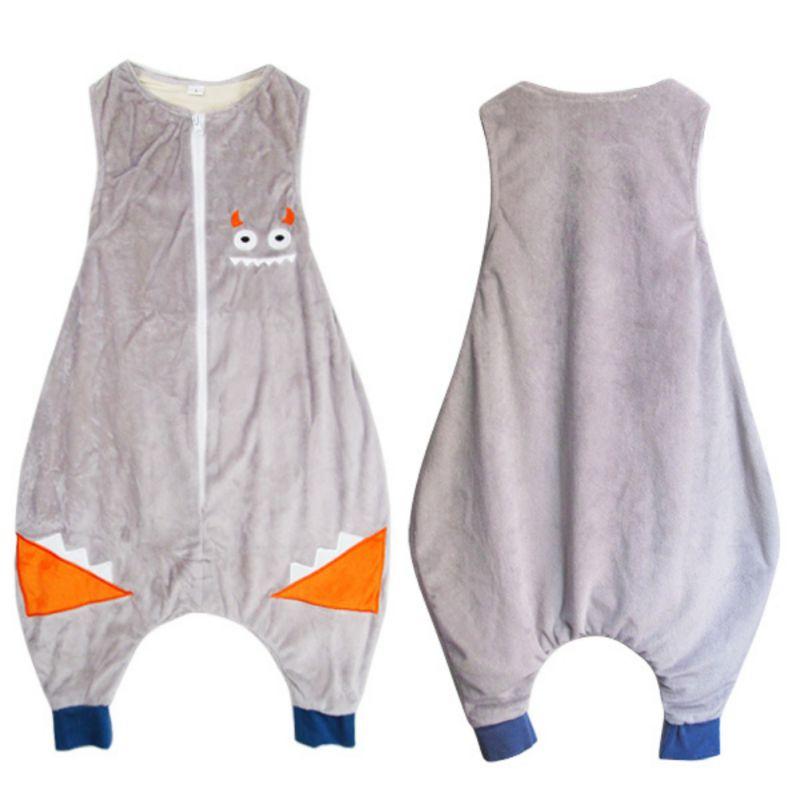 Cotton Baby Sleeping Bag Cotton Sleeveless Sleeping Ware Children Kid\'s Owl Dinosaur Sleep Sack Baby Sleepwear Clothes