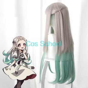 Image 4 - Pelucas de la Escuela de Cos, Nene Yashiro, peluca de Cosplay de Hanako Kun Yugi Amane con tapa, accesorios de Anime