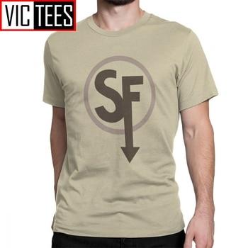 цена на Sal Fisher Sally Face Larry Johnson T Shirt Men Cotton Vintage T-Shirts Mask Larry Johnson Game Tees Adult