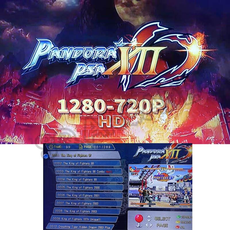 Pandora XII 3188 in 1 board Box 12 arcade-version Jamma Board for Arcade Cabinet Machine Coin-operated HD video games HDMI VGA