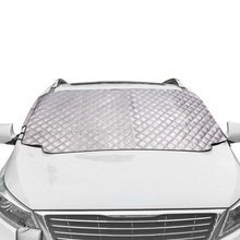 Cubierta de la nieve del coche cubierta magnética del parabrisas cubierta de protección del sol más gruesa bloqueador del sol todo el tiempo invierno verano SUV Universal