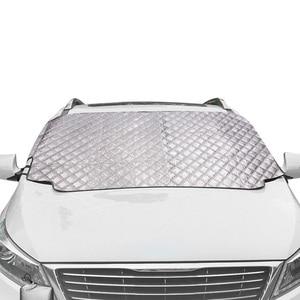 Image 1 - 車積雪磁気フロントガラスカバー厚いサンシェード保護カバー太陽ブロッカー全天候冬夏 SUV ユニバーサル