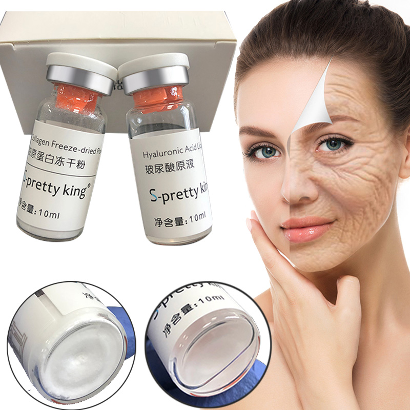 2 Bottles/box High Quality Hyaluronic Acid Remove Eye Bags And Fine Lines Lip Filling For Atomizer Gun Hyaluronic Pen