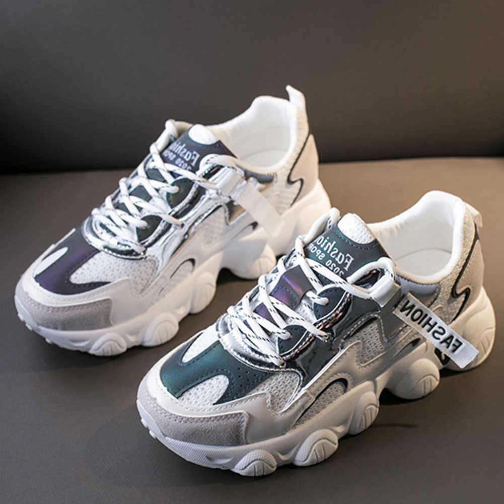 DORATASIA กระชับ LACE-up สีผสมรองเท้าเทนนิสรองเท้าผ้าใบผู้หญิงฤดูใบไม้ผลิฤดูร้อนใหม่ขายร้อน Patchwork รองเท้าผ้าใบ