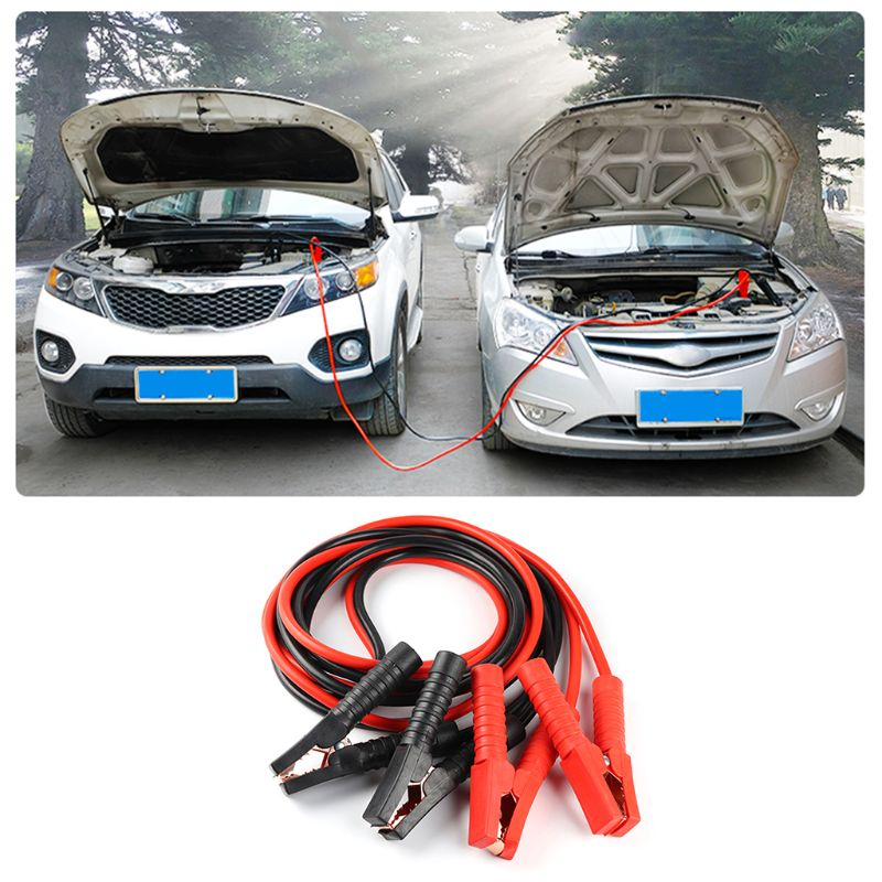 Heavy Duty 2000AMP 4M Car Battery Jump Leads Booster Cables Jumper Cable For Car Van Truck U1JF|Battery Jump Cable| |  - title=