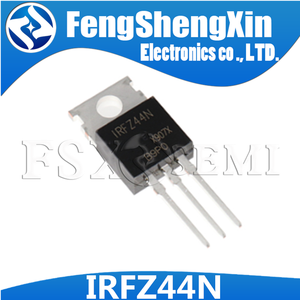 Image 1 - 10 adet/grup yeni IRFZ44N transistör TO 220 IRFZ44NPBF IRFZ44 güç MOSFET