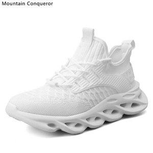 Image 4 - Montagne conquérant Ins vente chaude vulcaniser chaussures hommes décontracté course baskets hommes grande taille 39 46 chaussures pour homme vulcaniser chaussures