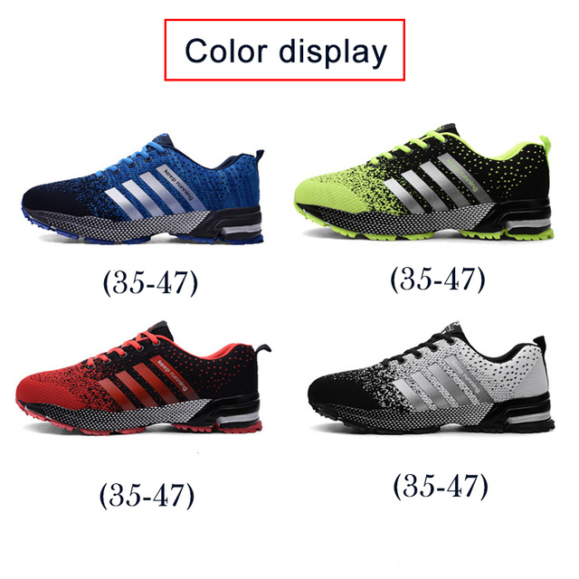 Fashion Men's Shoes Portable Breathable Running Shoes 46 Large Size Sneakers Comfortable Walking Jogging Casual Shoes 47 3