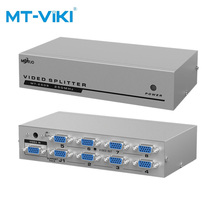 MT-VIKI VGA Video Splitter Verteiler 1 eingang 8 Ausgang für Gemeinsame Lcd-monitore MT-2508 mt viki 8 port hdmi splitter distributor video sharing 1 input to 8 output multiple lcd monitor synch display mt sp108m