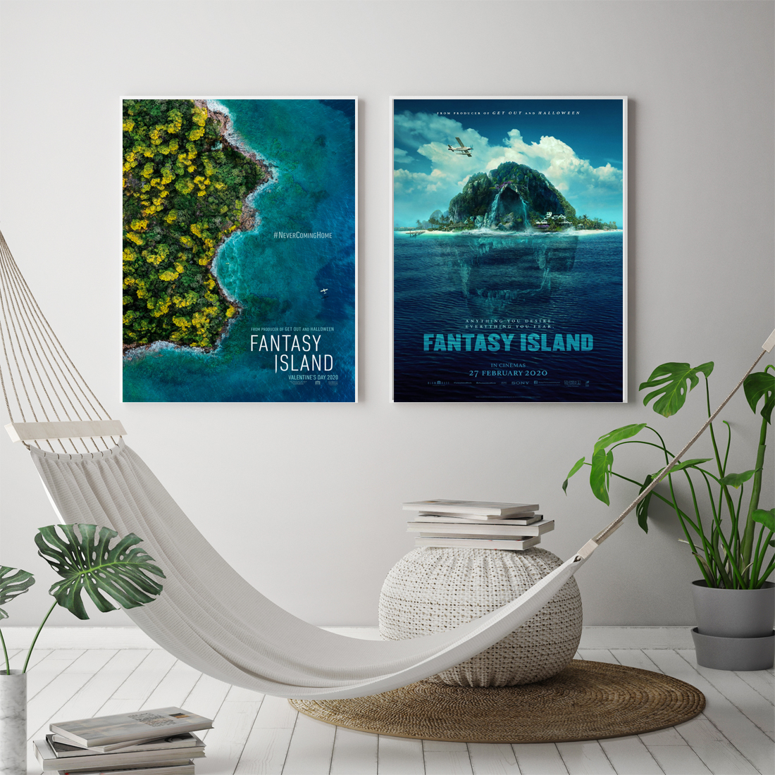m011 new fantasy island movie silk poster canvas decoration print wall pictures custom 24x36 27x40inch home decor painting calligraphy aliexpress