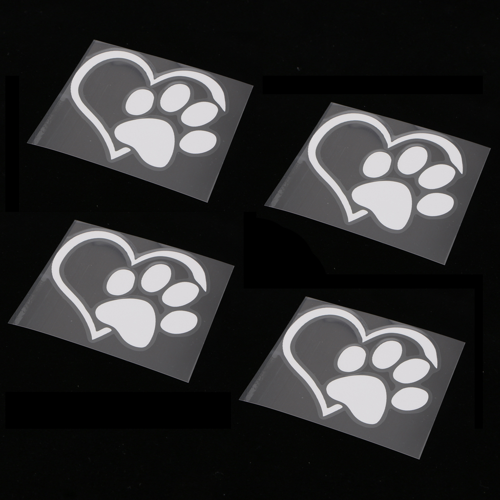 Cat Pet Custom Made with Heart Sticker for Car//Bumper//Window