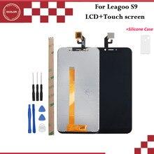 Ocolor для Leagoo S9 ЖК дисплей и сенсорный экран 5,85 аксессуары для телефонов Leagoo S9 с инструментами и клеем + силиконовый чехол