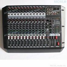 Цифровая 12 канальная Премиум входная 2 шиповая микшер lx12