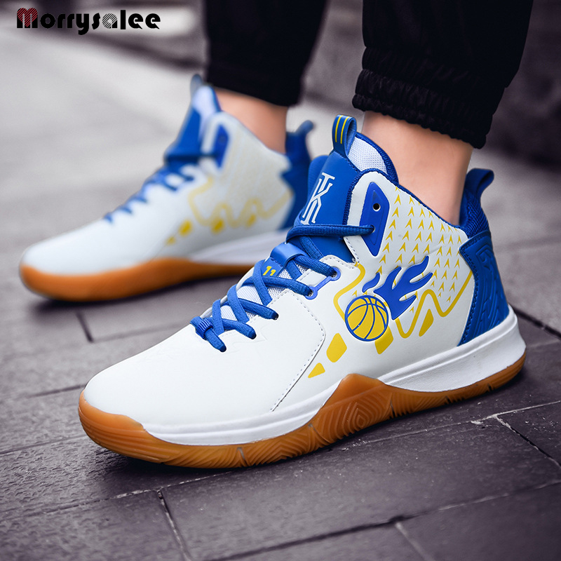 The New 2020 Cross border Large Size Men's Shoes Wearable Non slip High Top Basketball Shoes For Student Shoes|Basketball Shoes| |  - title=
