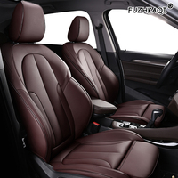 FUZHKAQI Custom Leather car seat cover For AUDI Q3 Q5 A4 A3 A6 Q7 A1 A5 A7 A8 TT R8 Automobiles Seat Covers car seats protector