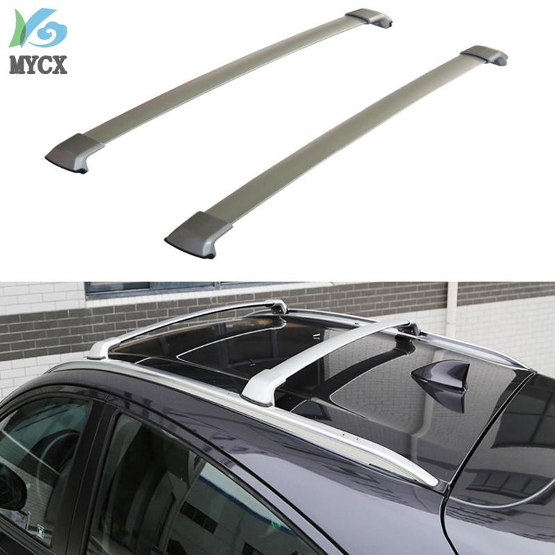 New arrival for Honda HR-V HRV X-RV Vezel roof rack roof rail roof bar 2014-2018 .thicken aluminum alloy
