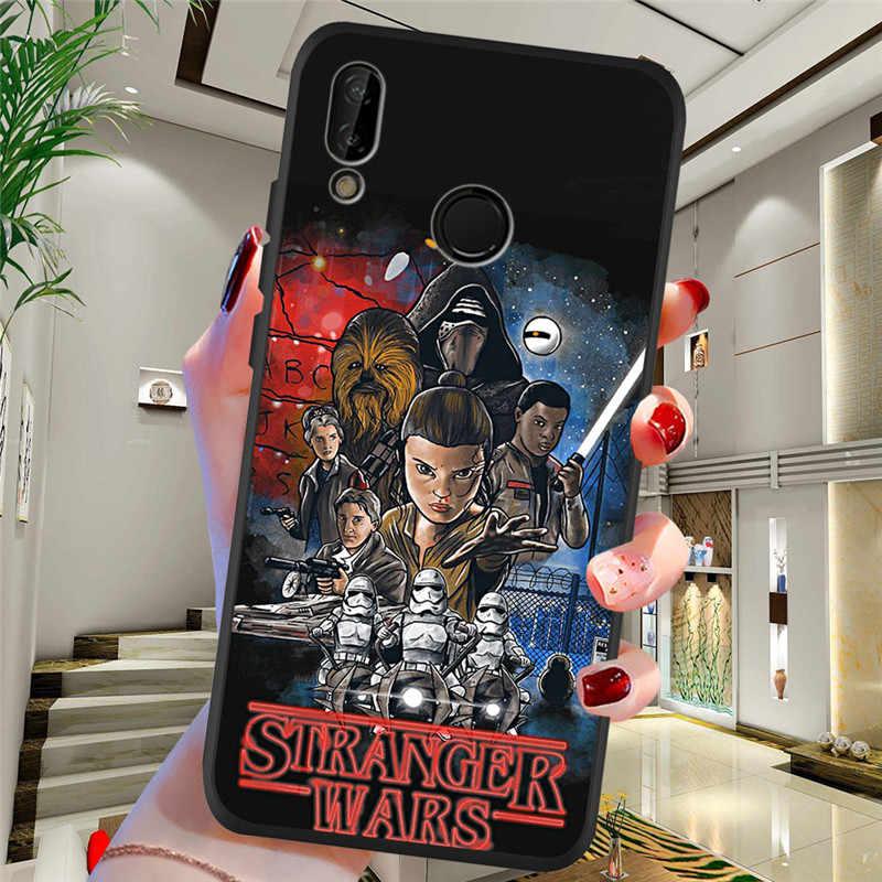 stranger things For Huawei P8 P10 P20 P30 Mate 10 20 Honor 8 8X 8C 9 V20 20i 10 Lite Plus Pro Case Cover Coque Etui capa funda