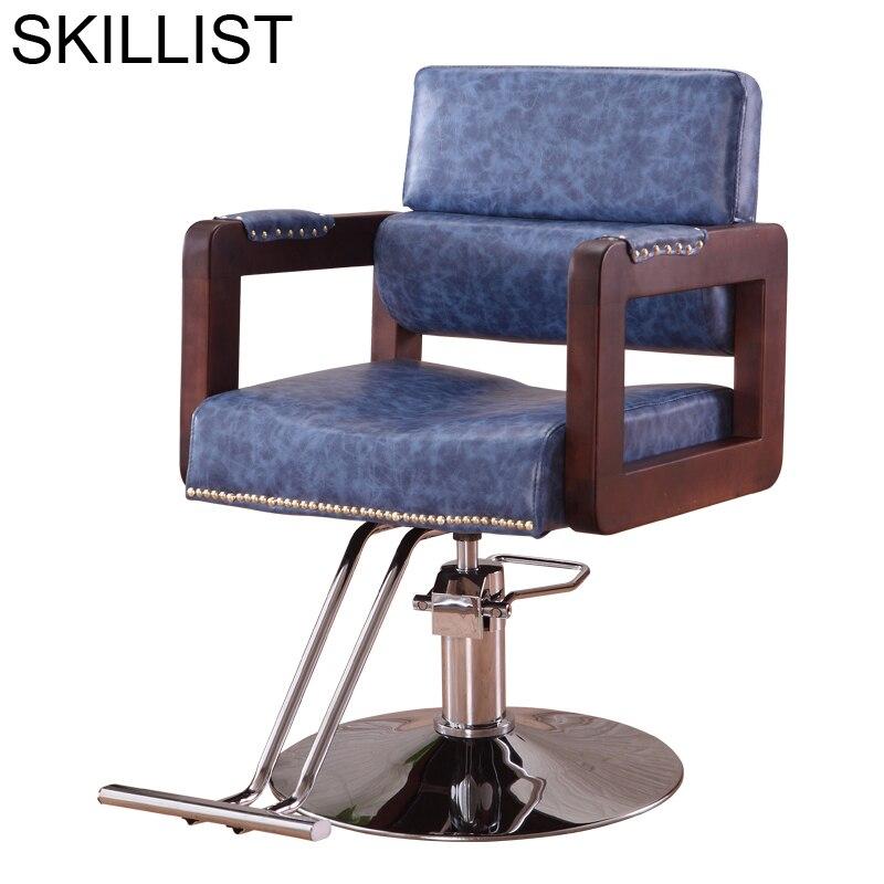 Cabeleireiro Chaise Hairdresser Belleza Schoonheidssalon Beauty Furniture Mueble De Silla Salon Shop Cadeira Barber Chair