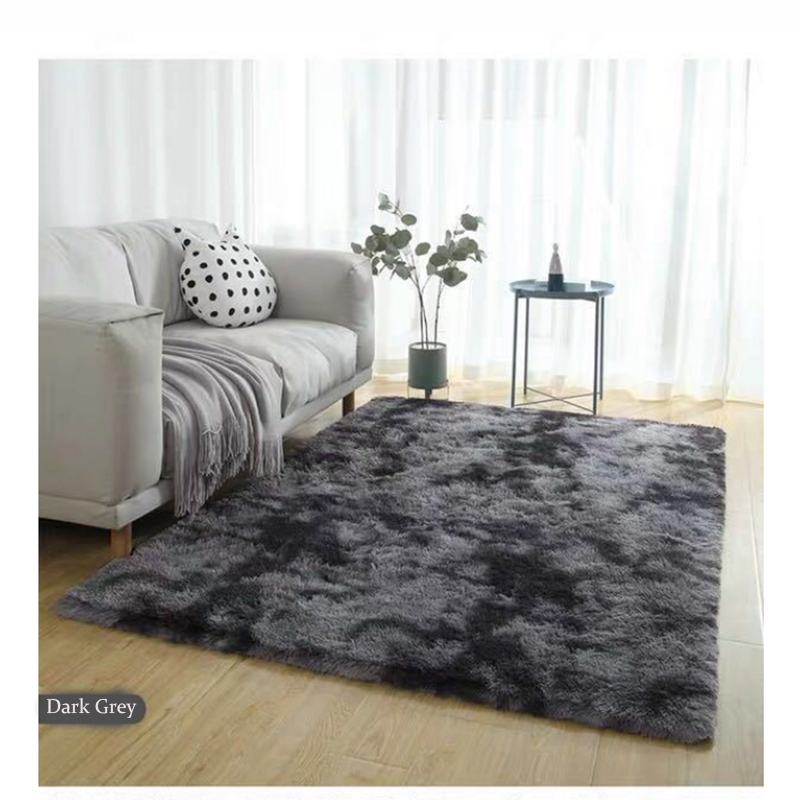 Fur Rug Fashion Bedroom Fluffy Carpet Bedroom Bedside Mat Washable Blanket Living Room Large Rug Alfombras Para La Ssala Moderna